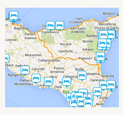 Best Sicily Beaches Map